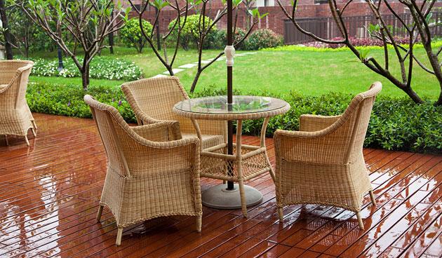 Rieten Balkon Meubels : Onderhoud van rieten meubels landidee