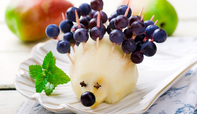 Egel van fruit