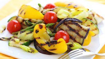 Recept: gegrilde groenten met basilicum