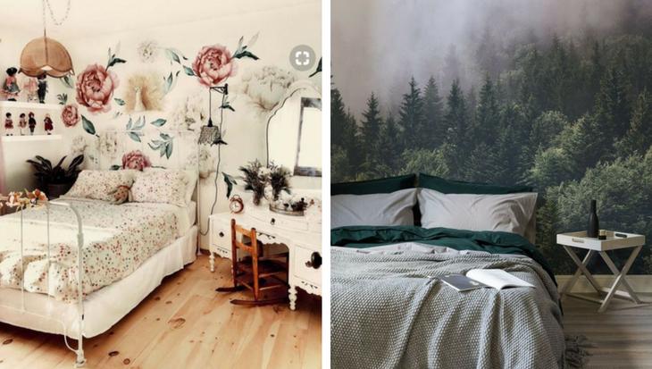 Behang Prints Opvallend : Leuke ideeën met verschillende soorten behang leuke diy s